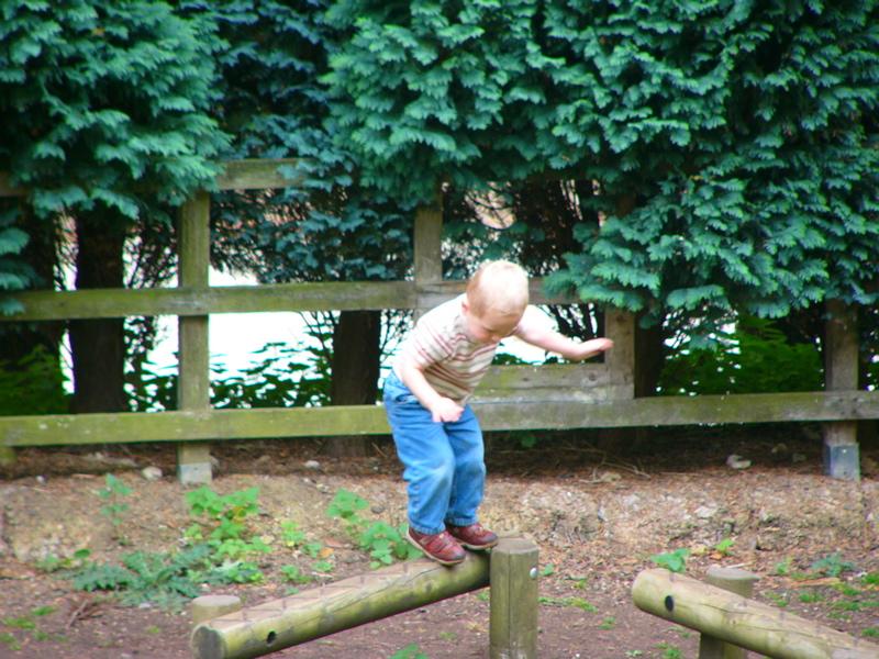 Morgan balancing and Prinknash Abbey