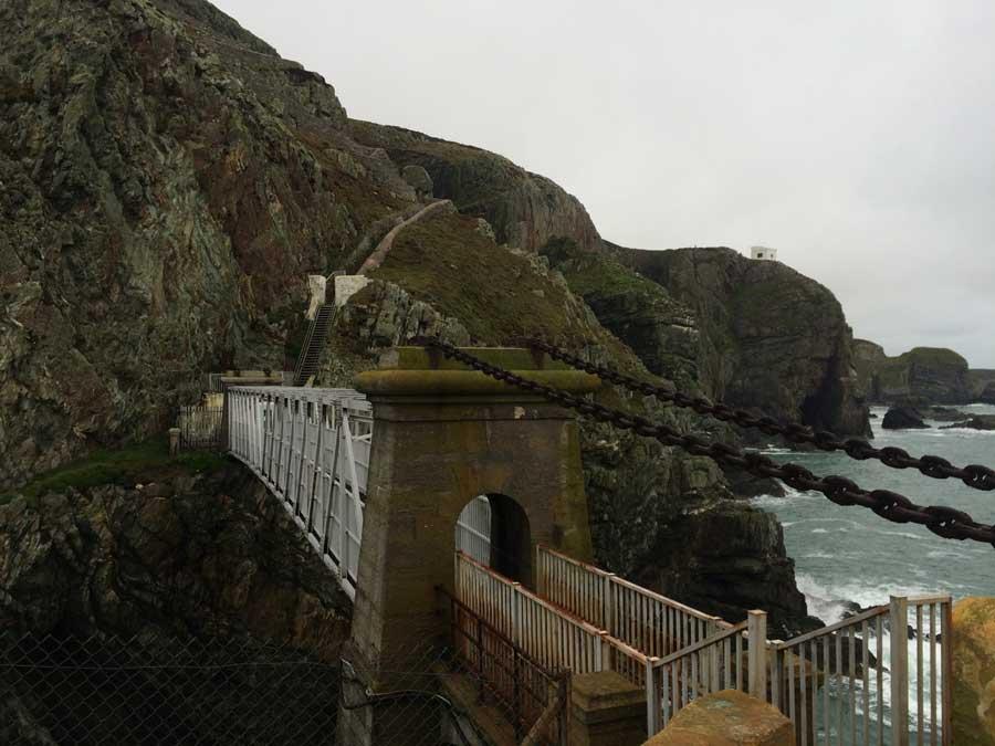 Wales coast path run trearddur bay to holyhead a for Bay bridge run 2016