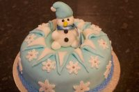The finished Cake